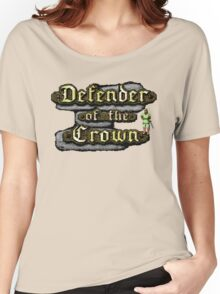 Gaming [C64] - Defender of the Crown Women's Relaxed Fit T-Shirt