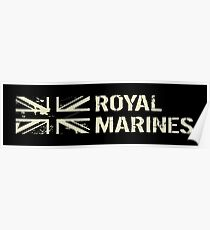 British Royal Marines Poster