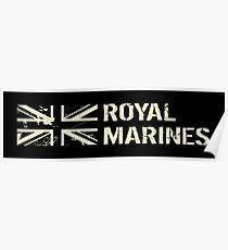 British Royal Marines Poster