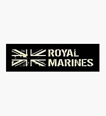 British Royal Marines Photographic Print