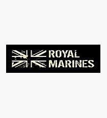 British Royal Marines Photographic Print