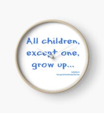 All Children Except One Grow Up Gifts Merchandise Redbubble
