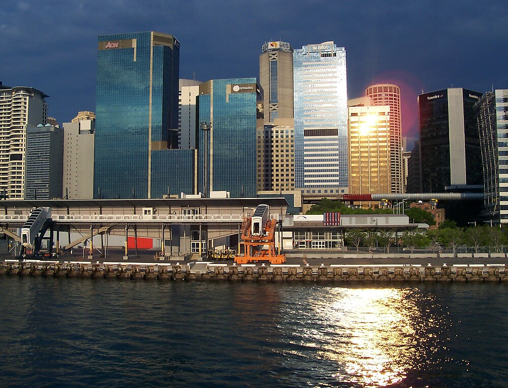 Sunset - Darling Harbour Sydney by WarOfTheRoses