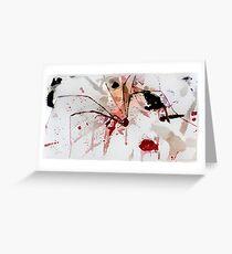 Murder Pholcus Greeting Card