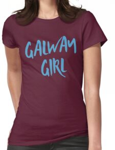 Galway Girl Divide Ed Sheeran Womens Fitted T-Shirt