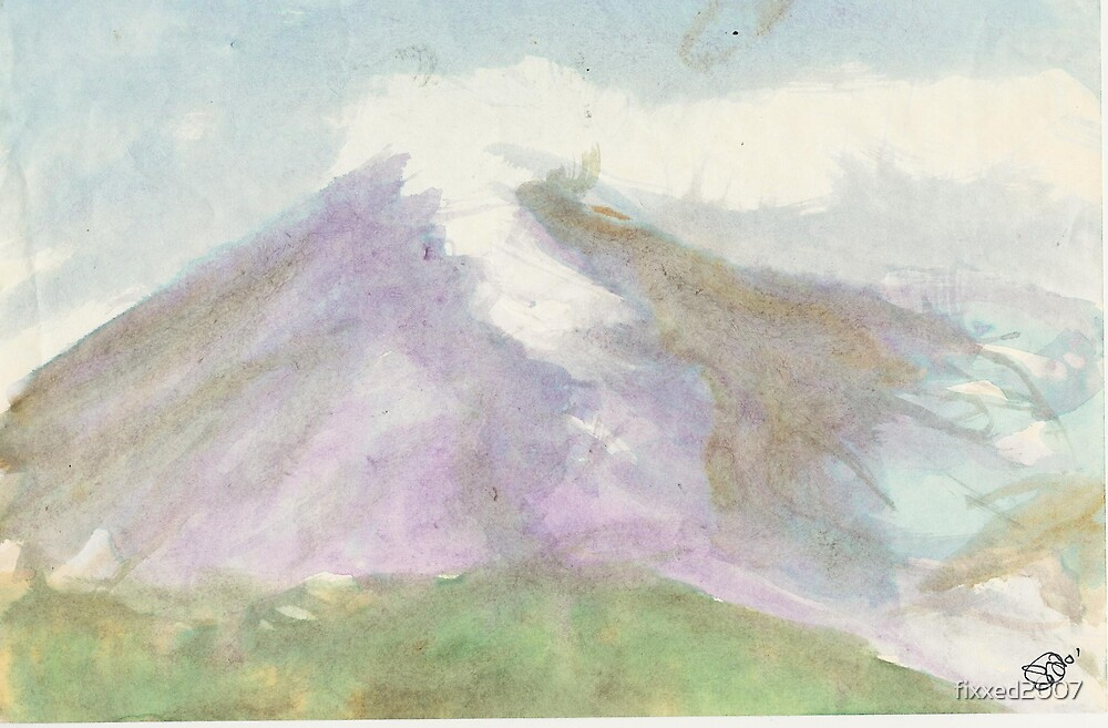 Mt. St. Helens by fixxed2007