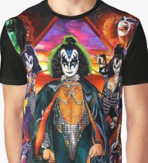 Gene Simmons collage Graphic T-Shirt