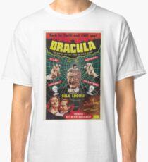 Dracula - Bela Lugosi movie 1931 - Vintage Poster Classic T-Shirt