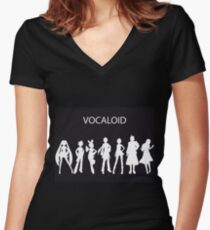 Vocaloid Women's Fitted V-Neck T-Shirt