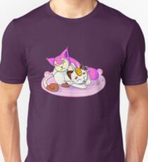 Meowth and Skitty v2 T-Shirt