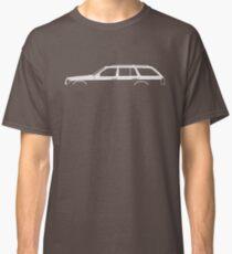 Car silhouette - W124 station wagon Classic T-Shirt