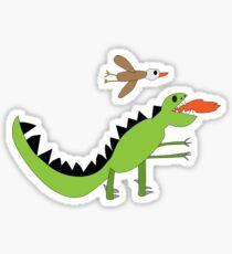 Dinosaur Eagle Sticker