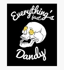 Everything's Just Dandy Photographic Print