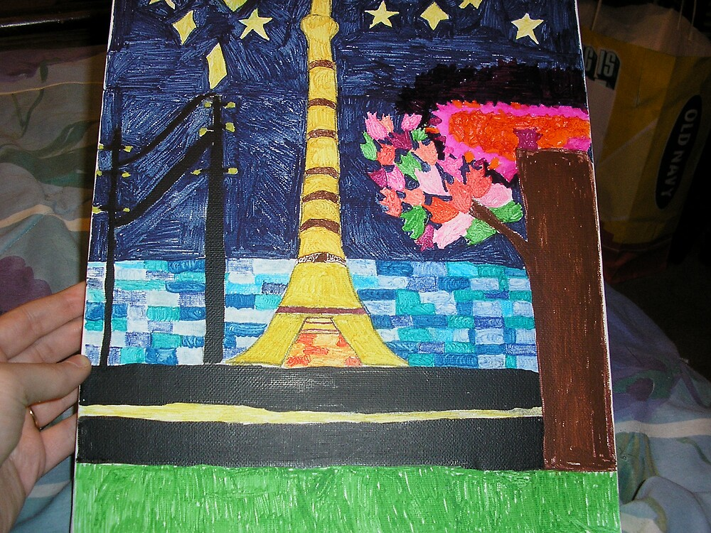 picture of paris's tower by angelgirl