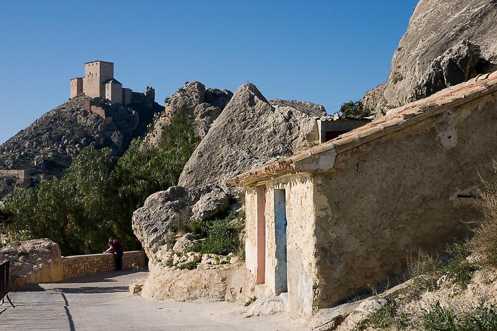 Castillo Velez Mula Murcia España by Johninmula
