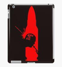born to kill iPad Case/Skin