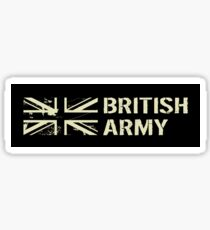 British Army (Black Flag) Sticker