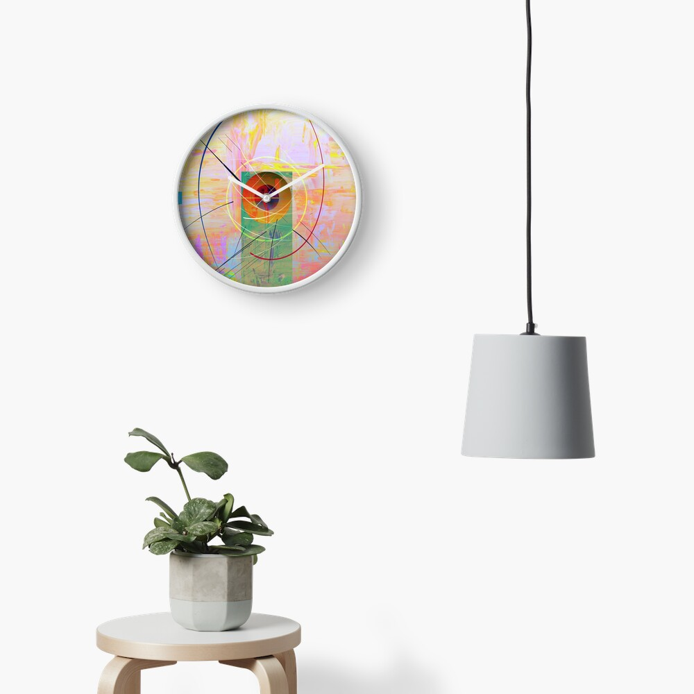 Shapes and Paint Clock