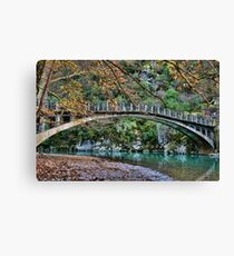 Autumn paradise Canvas Print