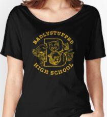 Badlystuffed high school Women's Relaxed Fit T-Shirt