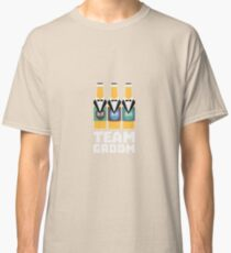 Team Groom Beerbottles Rqf18 Classic T-Shirt