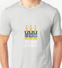 Team Groom Beerbottles Rqf18 T-Shirt