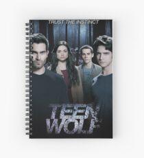 Teen Wolf cast Spiral Notebook