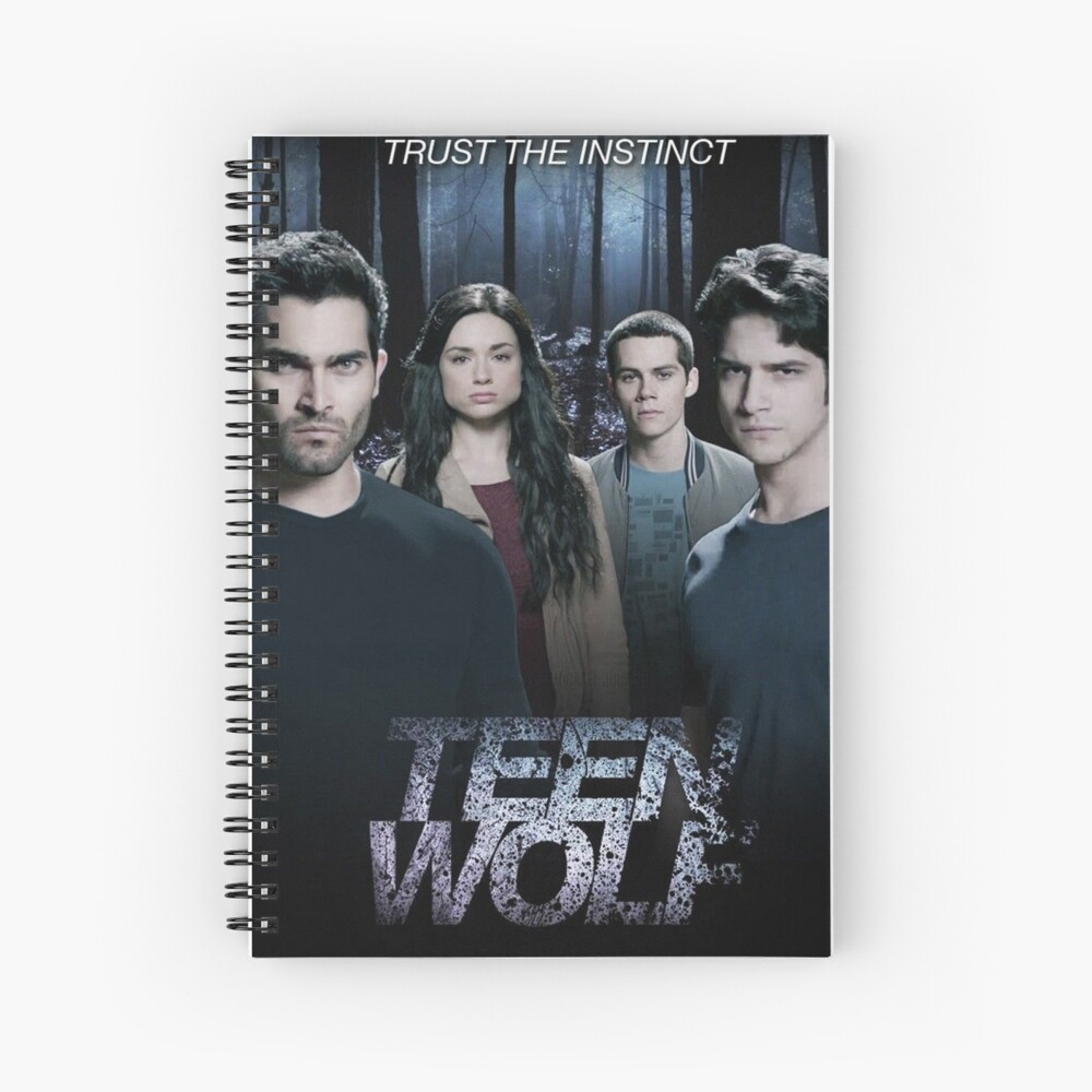 Teen Wolf cast Spiral Notebook