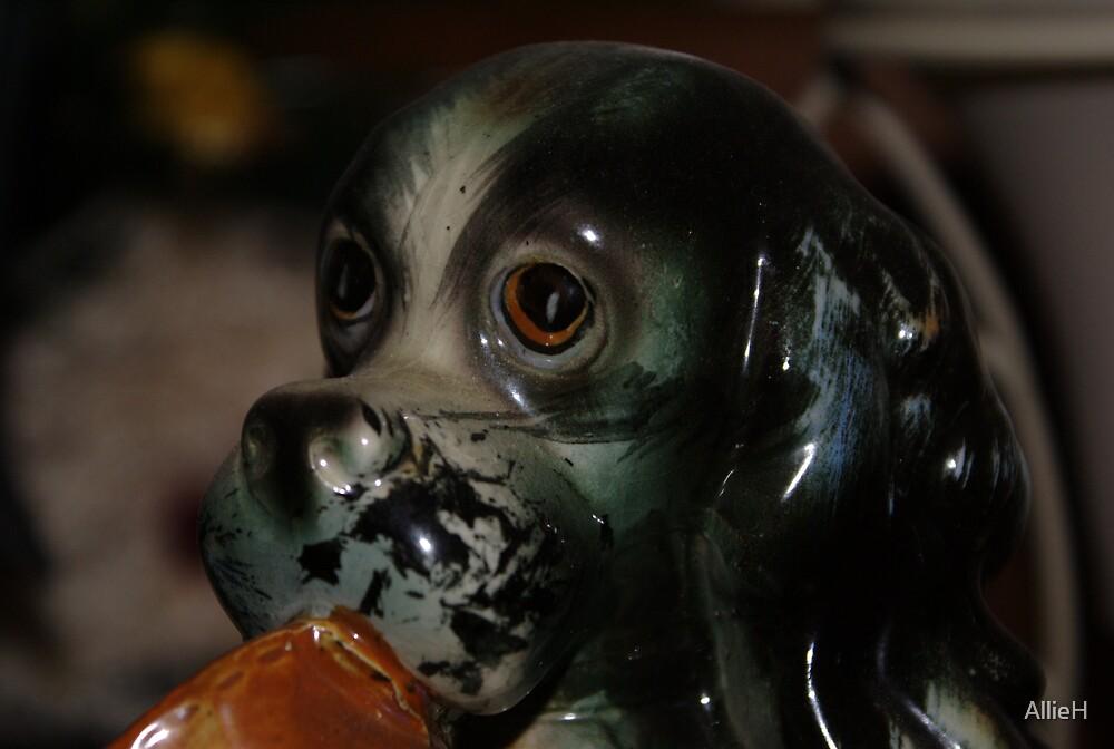 Sad Dog by AllieH
