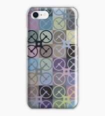 Graphic Drone iPhone Case/Skin