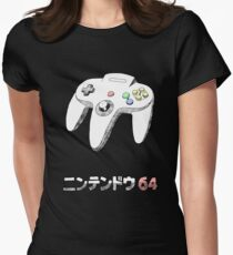64 CONTROLLER Womens Fitted T-Shirt