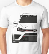 VW Golf MK7 Touring Car Half Cut T-Shirt