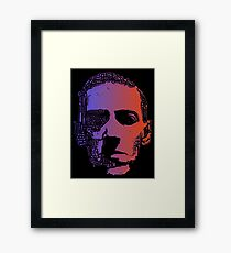 Glowing Lovecraft Framed Print