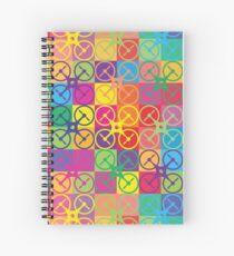 Pop Art Drone Spiral Notebook