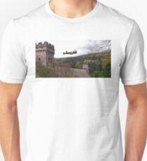 Lancaster VR-A at the Derwent Dam Unisex T-Shirt