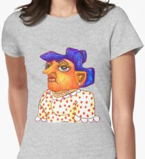 Mom - Betty Womens Fitted T-Shirt