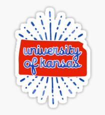 University of Kansas - Style 26 Sticker