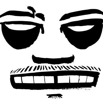 KILL FACE by cicadahaus
