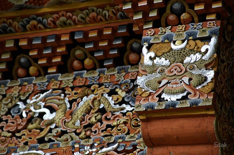 Bhutan architecture by Stak