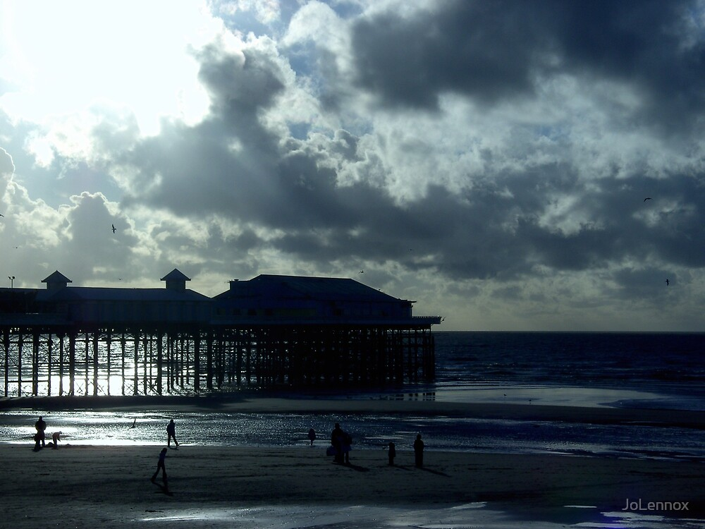 Moody Pier 2 by JoLennox