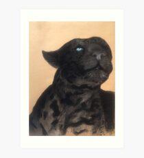 Leopard's Gaze Art Print