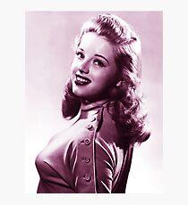 Diana Dors vintage color Photographic Print