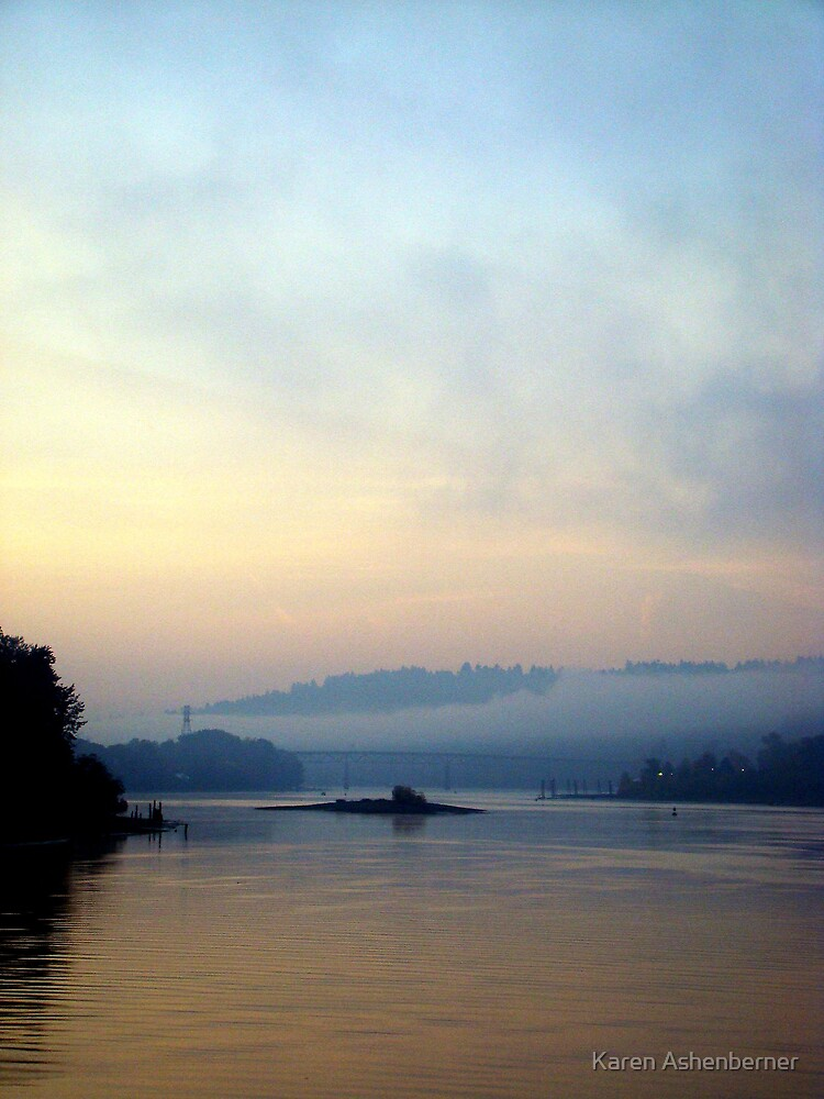Fog on the Bridge by Karen Ashenberner