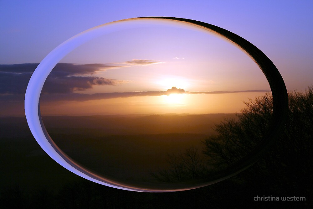 minds eye view of the world by christina western