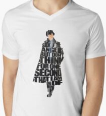 Sherlock Men's V-Neck T-Shirt