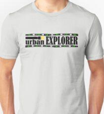 Urban Explorer Design Unisex T-Shirt