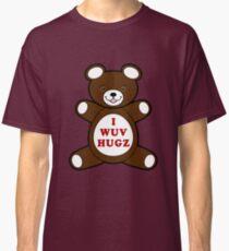 Supernatural I WUV HUGS - Cosplay Classic T-Shirt