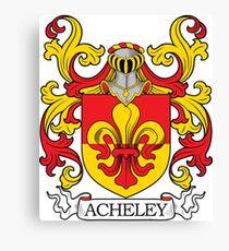 Acheley Coa of Arms Canvas Print