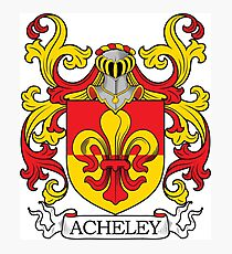 Acheley Coa of Arms Photographic Print
