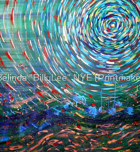 """Green Peace by Belinda """"BillyLee"""" NYE (Printmaker)"""
